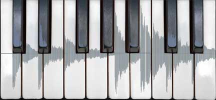 Keyboard digital audio